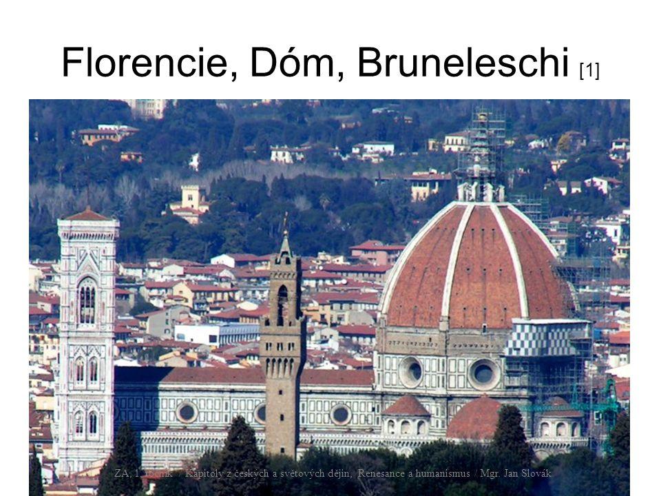 Florencie, Dóm, Bruneleschi [1]
